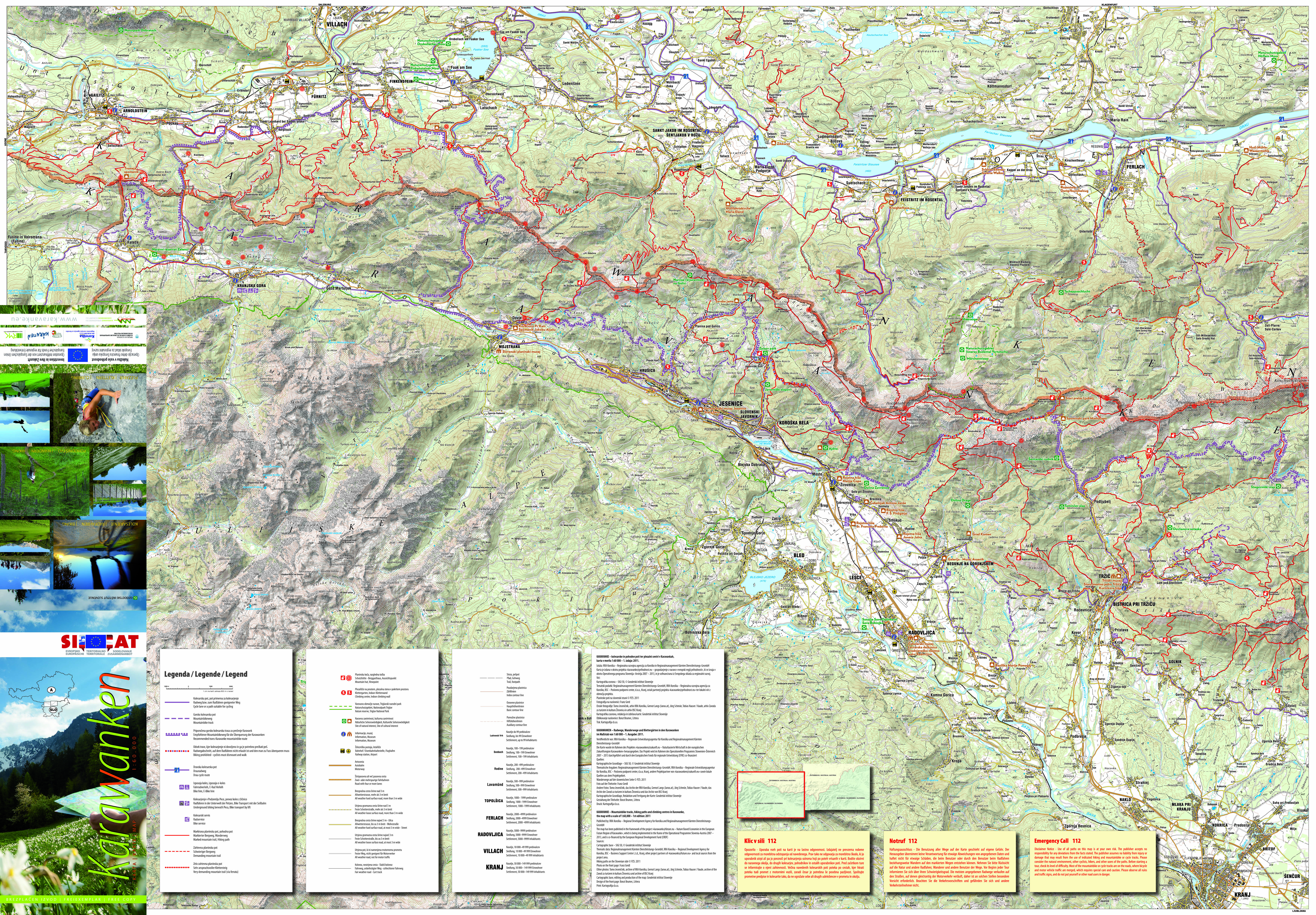 Hiking Options in the Karavanke mountain range and in the ...